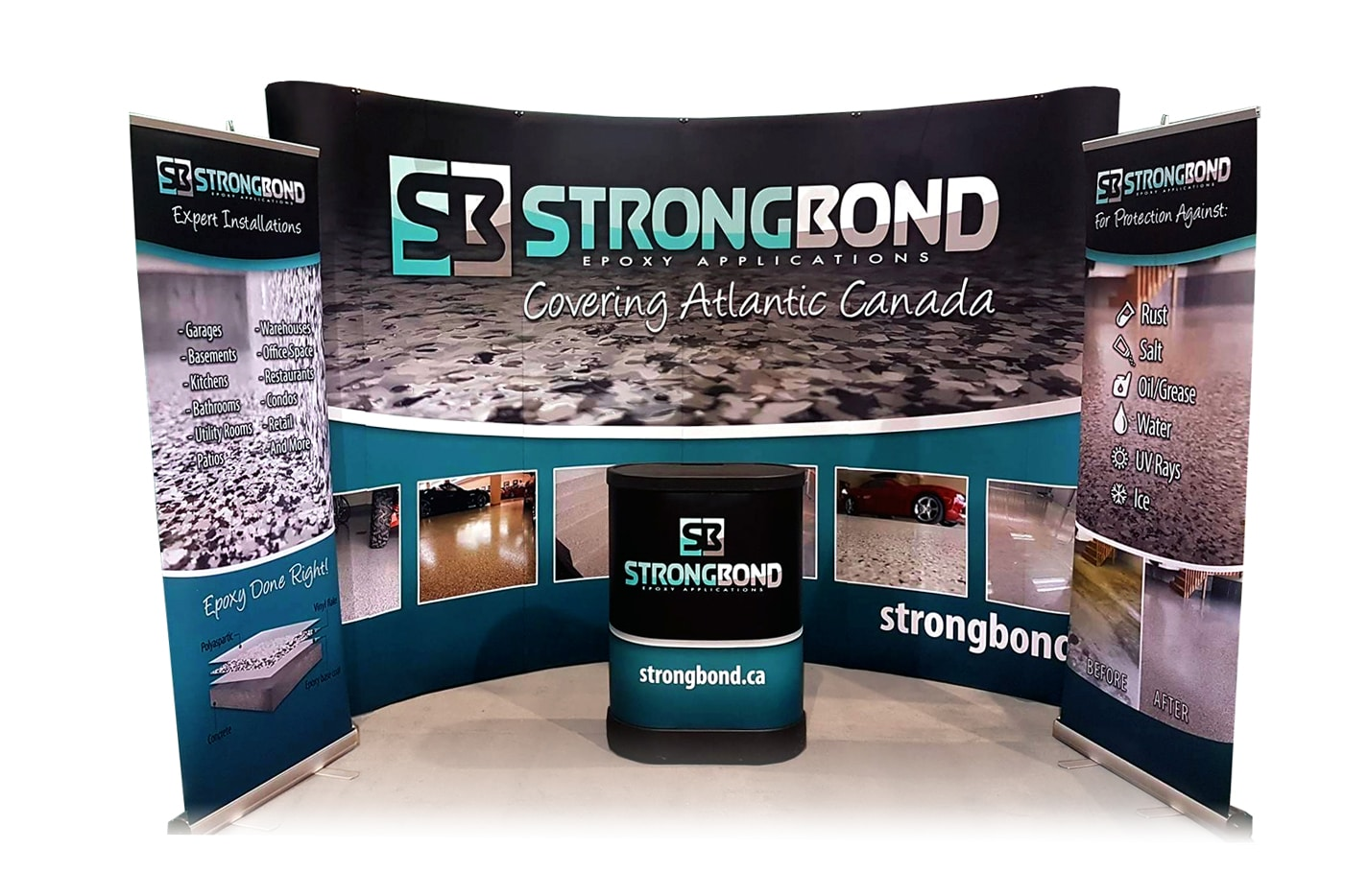 Strong Bond Tradeshow Display