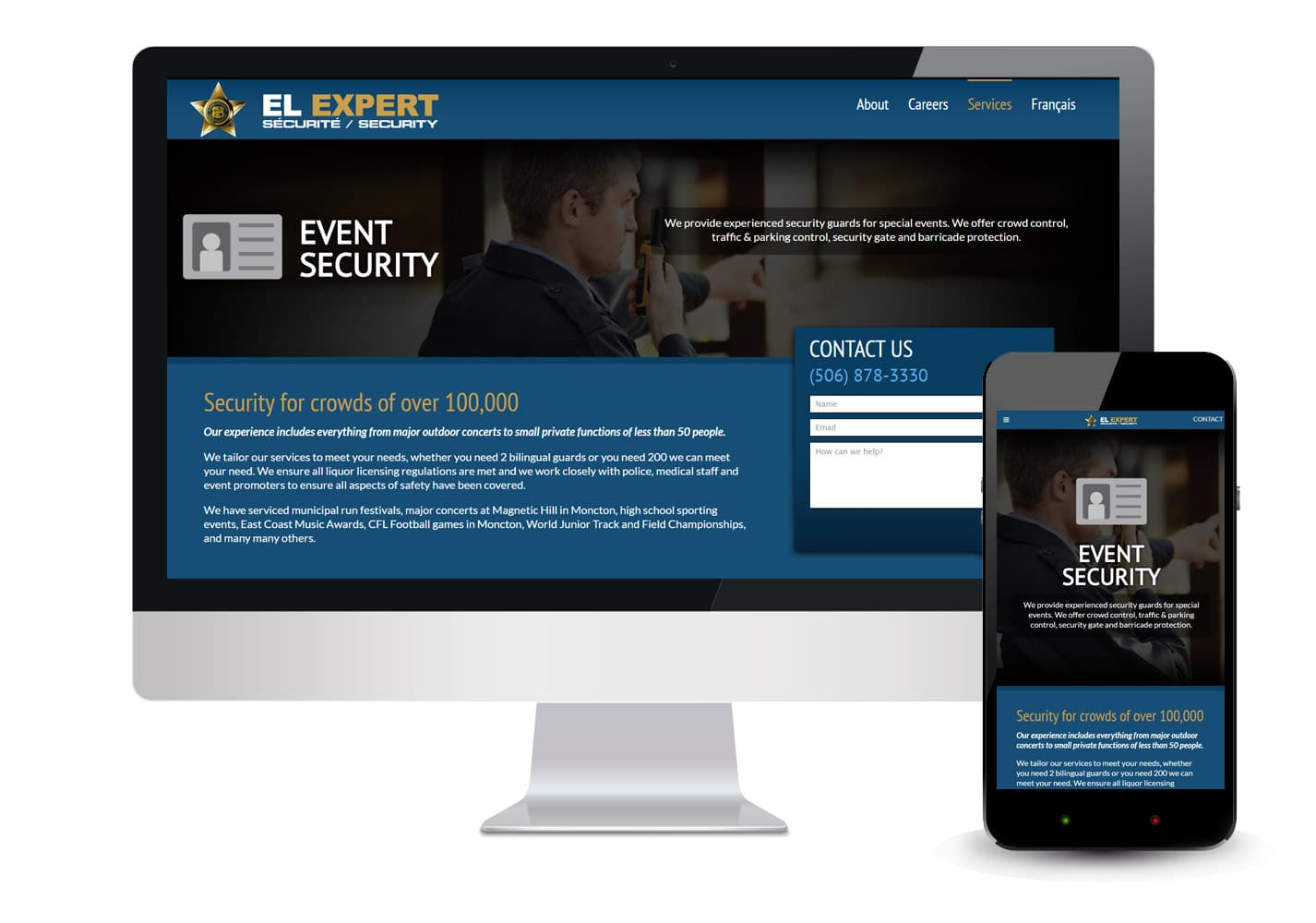 El Expert Security Website